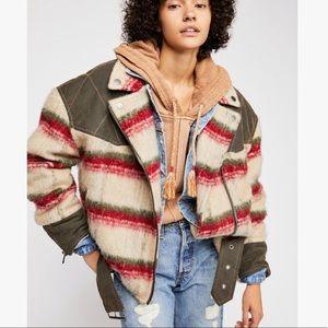 Free People Montana Jacket L NEW